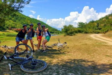 MTB easy tour in Ohrid-Macedonia