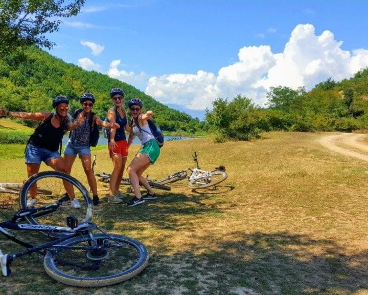 MTB easy tour in Ohrid-Macedonia