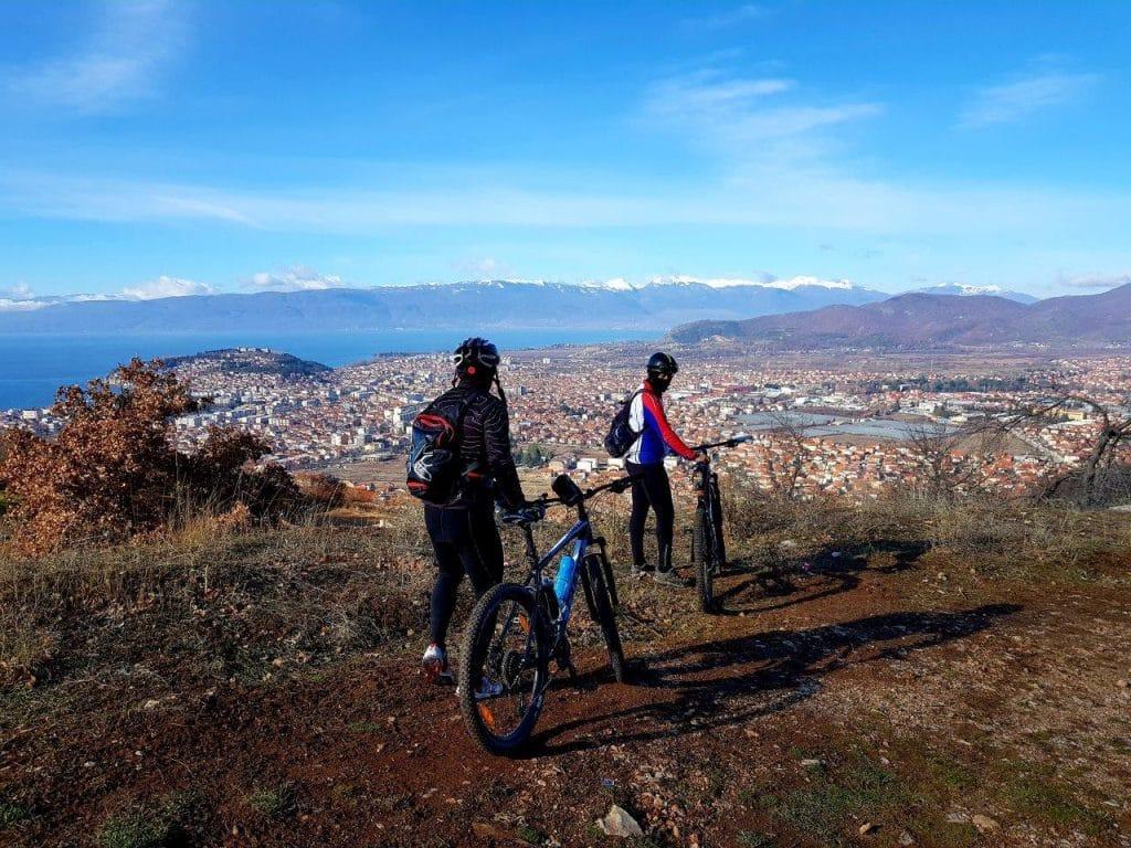 MTB medium tour in Ohrid-Macedonia