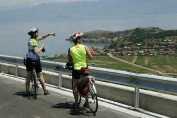 cycling in Albania and Macedonia