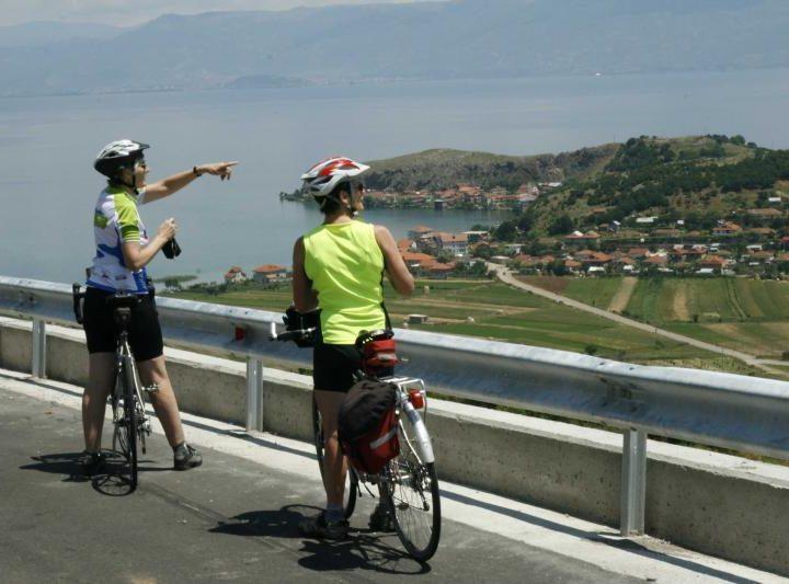 cycling in Albania and Macedonia
